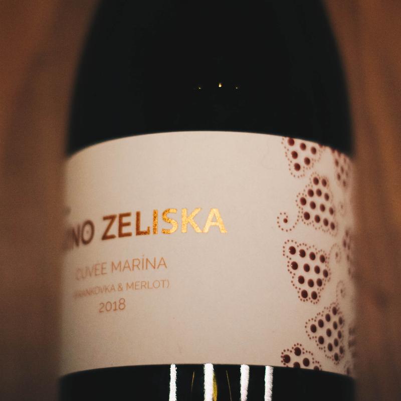 Cuvée Marína 2018 Víno Zeliska